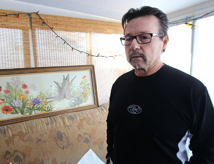 John Kolb speaks about the death of his son Jessie last year from an overdose of Fentanyl, in the family's Riverview home in Winnipeg, Man., on Thu., Nov. 20, 2014. The Kolbs want people to be aware of the powerful drug's presence on the streets.