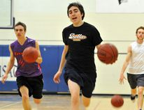 The St. Mary Crusaders boys basketball have been practicing for the last three weeks in preparation for the upcoming LGSSAA season starting next week.