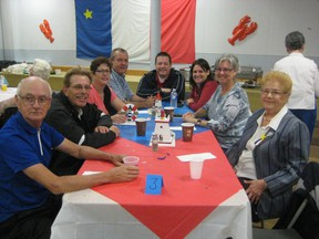 Photo supplied                   A celebration of Acadian cultture in Hanmer included an authentic Acadian lunch.
