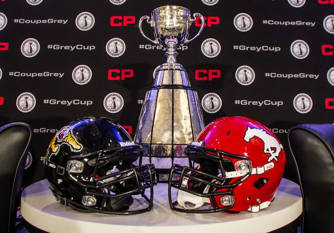 """<p> The 102nd Grey Cup is upon us. The Hamilton Tiger-Cats and Calgary Stampeders will compete for CFL supremacy this Sunday in Vancouver.  </p> <p> Also on Sunday, thousands of fans will drop money on everything from predicting the game's winning team to trying their luck at choosing the highest scoring quarter. </p> <p> Since title games and gambling go hand-in-hand, we thought it'd be fun to look at some Grey Cup odds. </p> <p> <p>With help from the fine people at <a href=""""http://sports.bodog.eu/"""">Bodog</a> and <a href=""""http://www.bet365.com/home/FlashGen4/WebConsoleApp.asp?&cb=10880529549"""">bet365</a>, here's 10 intriguing bets to consider:<br /> </p>"""