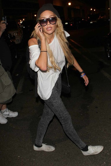 Amanda Bynes  It's always tough seeing a beloved child star start to unravel before the public eye, and even worse when it's obvious they're suffering from some kind of mental illness. Amanda Bynes went from being America's sweetheart one moment, to tweeting strange things about her parents and other celebrities, checking in and out of rehab facilities, and losing most of the money she accumulated over the years on lawyer fees and drugs. Here's to hoping Bynes can learn to manage her recent bi-polar diagnosis and end up on top once again. WENN