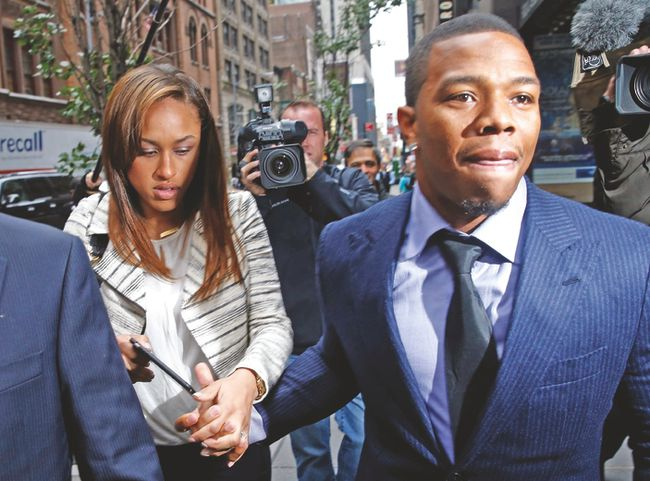 Former Ravens running back Ray Rice won his appeal against the NFL on Friday. (REUTERS)