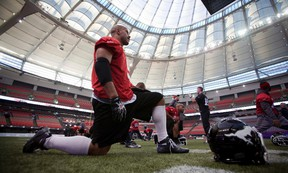Jon Cornish has a Grey Cup ring, but in 2008, when the Stampeders last won the championship game, he didn't carry the ball once. (Reuters)
