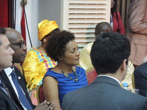 Michaelle Jean, a former governor general of Canada, was chosen as the next head of the international organization of Francophone nations, Nov. 30, 2014. MARC-ANDRÉ GAGNON/QMI Agency