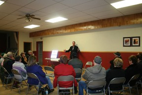 Drayton Valley Rural Crime Watch invited guest speakers at their meeting held in November.