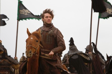 "Lorenzo Richelmy in a scene from Netflix's ""Marco Polo."" Photo Credit: Phil Bray for Netflix."