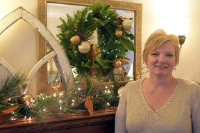 Heather Benton, who with her husband Alan, opened their home Saturday for the Christmasfest Holiday Tour of Homes, presented by Tillsonburg Kinette Club and Station Arts Centre. CHRIS ABBOTT/TILLSONBURG NEWS