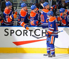Jordan Eberle and the Oilers have lost 10 straight games and are like a wounded but dangerous animal coming in to face the Winnipeg Jets on Wednesday night.