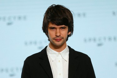 """Actor Ben Whishaw poses on stage during an event to mark the start of production for the new James Bond film """"Spectre"""", at Pinewood Studios in Iver Heath, southern England December 4, 2014.  REUTERS/Stefan Wermuth"""