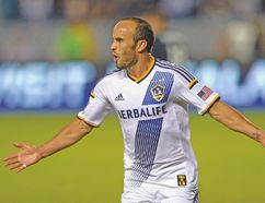 Los Angeles Galaxy forward Landon Donovan announced his impending retirement earlier this season. (USA TODAY SPORTS)