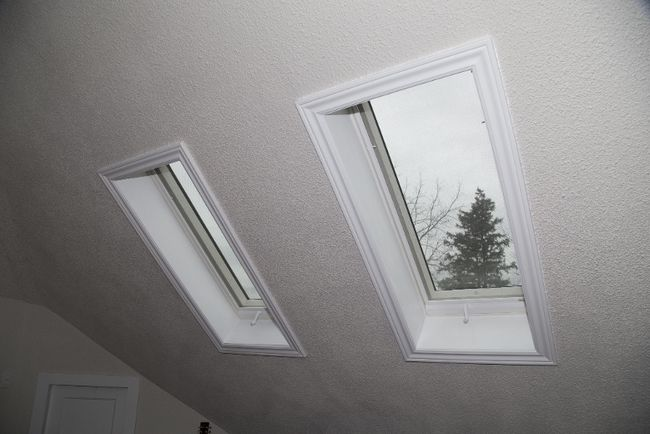 Skylights give the impression of more space and can completely change the feel and ambience of a room. (Free press file photo)