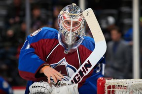 Calvin Pickard has found it immensely helpful to have the great Patrick Roy as his coach in Colorado.