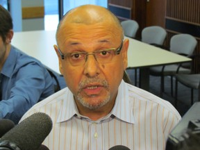 Toronto 2015 Pan Am Games Organizing Committee CEO Saad Rafi says he decided to release 5,000 pages of expenses on Dec. 12 2014, the last day available to him to do so and after the legislature rose for the holidays. (Toronto Sun/Antonella Artuso)