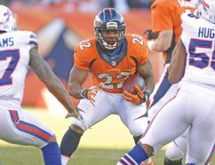 Running back C.J. Anderson was the lone Bronco to have a good fantasy game last week. (USA TODAY SPORTS)