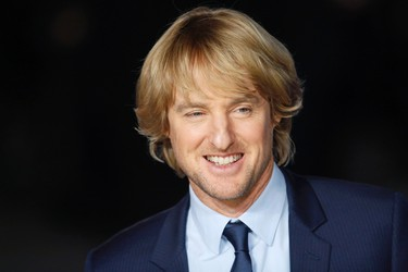 """Actor Owen Wilson arrives for the European premiere of """"Night at the Museum: Secret of the Tomb"""" at Leicester Square in London December 15, 2014.  REUTERS/Luke MacGregor"""