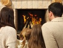 Homes - Fireplace for Power Outage