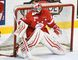 Soo Greyhounds goalie Joseph Raaymakers. (AARON BELL/OHL Images)