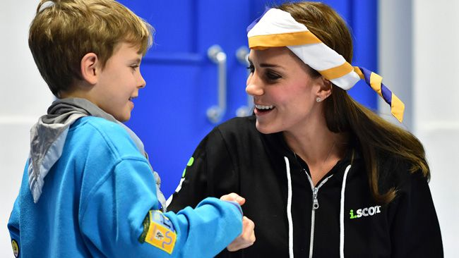Forget the evening gowns and the go-to wedges, the Duchess of Cambridge dressed down for a visit with he newly established 23rd Poplar Beaver Scout Colony in east London December, 16. Kate is an official volunteer with the organization and was a Brownie herself, as a child. (REUTERS/Ben Stansall/Pool)