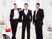 David Wise, Jason Carton and Mark Williams will be singing Christmas music at the Alliance Church as part of their international tour to share the holiday spirit across North America.