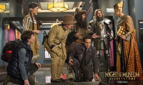 Ben Stiller stars in Night at the Museum 3, which turned out to be a complete disaster. (Handout Photo)