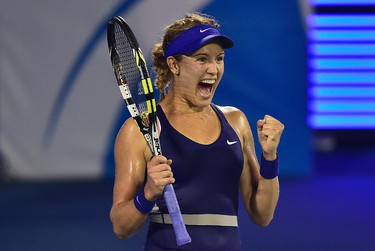 Eugenie Bouchard will make third round at Rogers Cup It's been a big year for Canada's own Eugenie Bouchard on the women's tennis circuit. Bouchard had many highs in 2014, seeing her WTA ranking soar to seventh in the world, but she stumbled badly at the Rogers Cup in Montreal, losing in the second round (her first match) to unheralded American Shelby Rogers. This year, our crystal ball is predicting Bouchard will make it to the third round in 2015. Going waaaay out on a limb, that ball is.