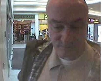 Police released this image of the suspect in the home invasion and robbery of Second World War veteran Ernest Cote.