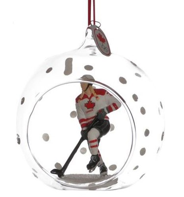 Collectible hockey ornamnent $14.99 - Canadian Tire