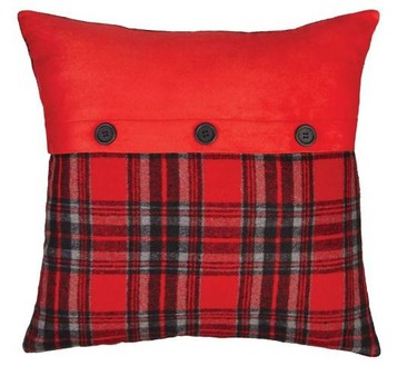 Plaid pillow $16.99 - Canadian Tire