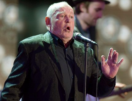 British singer Joe Cocker performs after receiving the trophy for Category ' lifetime achievement award music' during the 48th Golden Camera award ceremony in Berlin, February 2, 2013. REUTERS/Maurizio Gambarini/Pool
