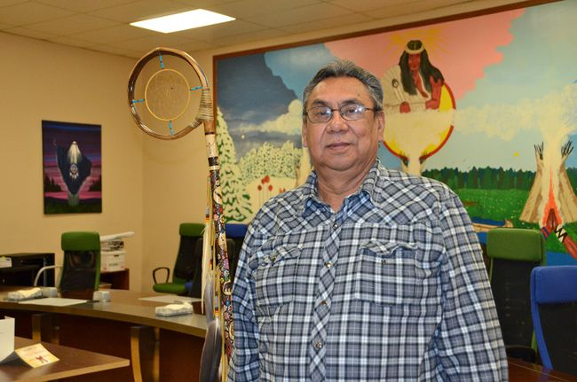 Saugeen First Nation Chief Vernon Roote
