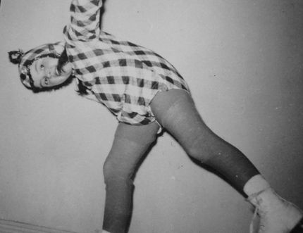 And Mom sewed the costume, too. (From Les Green's album)