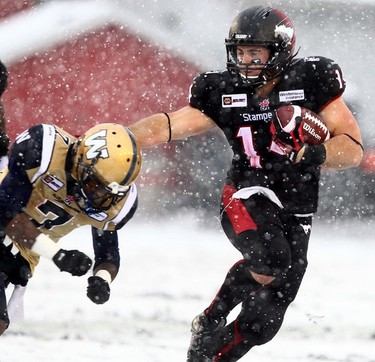 3. HITTIN' THE SKIDS  The team's hot start was replaced by one of the coldest finishes in franchise history, as the Bombers were 2-10 in their final dozen contests to miss the playoffs for the fifth time in the last six years and extend the Grey Cup drought to 24 years. The skid included an eight-game losing streak, which was the team's longest since 1998, and it ended only with a meaningless win over the Calgary Stampeders in the regular-season finale.