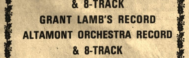 There seemed like no shortage of music in 1977. (Les Green/Submitted photo)