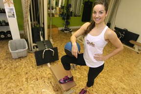 Ainsley McSorley of Revive Fitness talked to The Sun about fitness-based new year's resolutions.