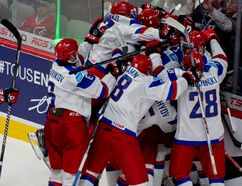 Russia wins over the U.S. in a quarterfinal match at the 2015 IIHF World Junior Championship at the Bell Center on January, 2, 2015. (PIERRE-PAUL POULIN/LE JOURNAL DE MONTRÉAL/QMI AGENCY)