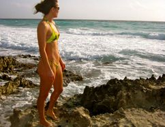 <p>Photo courtesy Tamara Loiselle taken in Cancun, Mexico, Loiselle, a triathlete, was vacationing in Cancun, Mexico when she jumped into the ocean to save drowning vacationers, near where this image was taken. Courtesy Tamara Loiselle/Calgary Sun/QMI Agency