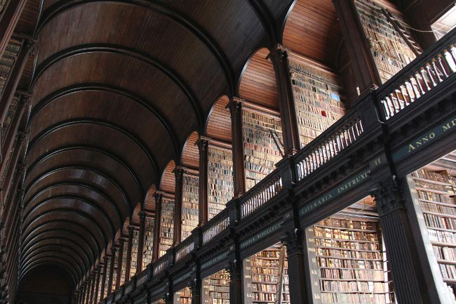 Trinity College Library Dublin Catalogue Old Library at Trinity College