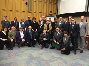 """""""Congratulations and thank you to all of the Mayor's New Year Honourees. You're doing great work for #ldnont http://ow.ly/i/8fzTq"""" (Twitter.com/MayorMattBrown)"""