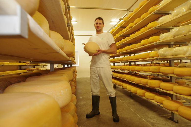 Shep Ysselstein is the owner of Gunn's Hill Artisan Cheese in Woodstock, which will be offering samples of its award-winning Five Brothers cheese during the London Wine and Food Show Thursday through Sunday at the Western Fair Agriplex. (HEATHER RIVERS/QMI Agency)