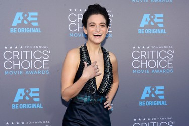 Actress Jenny Slate arrives at the 20th Annual Critics' Choice Movie Awards in Los Angeles, California January 15, 2015.  REUTERS/Kevork Djansezian