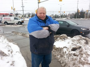 Bill Rahm of Barrhaven said he saw a man waving a handgun in the middle of Woodroffe Avenue on Saturday, Jan. 17, 2015 around 9 a.m. It shocked he and his wife. Guns and gangs officers continue to investigate who the man is and why he was carrying a gun. No shots were fired. KEATON ROBBINS/Ottawa Sun/QMI AGENCY