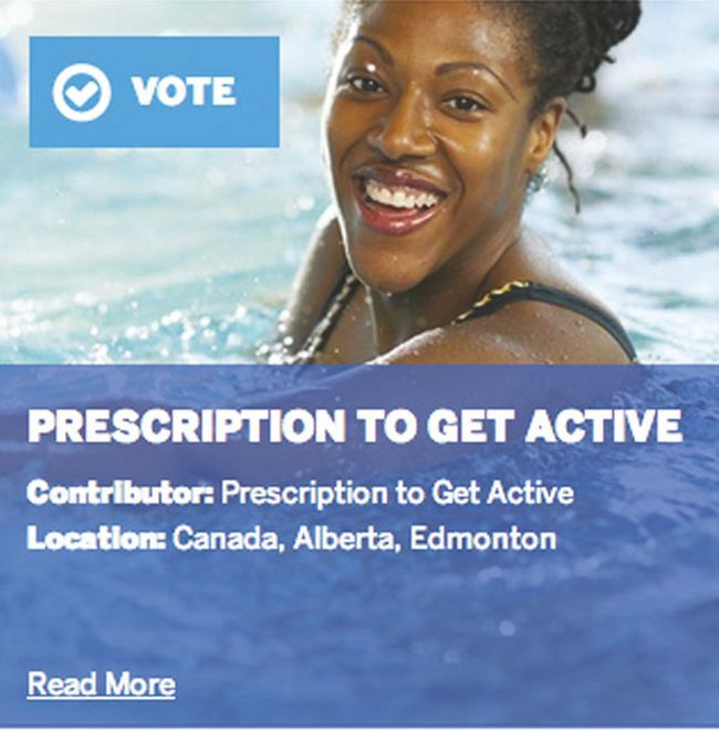 The Prescription to Get Active was recently nominated in a nationwide contest. (Photo Supplied)
