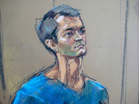 Ross Ulbricht, who prosecutors say created the underground online drugs marketplace Silk Road, makes an initial court appearance in New York, Feb. 7, 2014. REUTERS/Jane Rosenberg