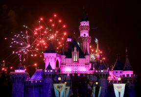 Disneyland theme park in Anaheim, California. May 4, 2005 file photo. REUTERS/Fred Prouser/Files