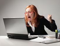 Hitting 'reply all' drives your co-workers crazy. (FOTOLIA)