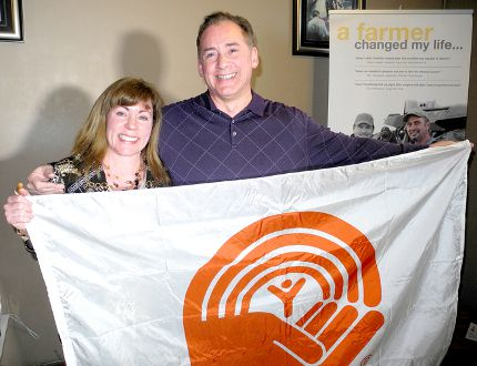 United Way of Chatham-Kent campaign co-chairs Dean and Margery Muharrem are shown at the Jazz-Bah during Friday's touchdown event. A total $1,914,175 was raised, exceeding the $1.9-million target. (Trevor Terfloth, The Daily News)