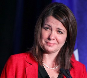 Ex-Wildrose leader Danielle Smith says she was surprised at the backlash over her floor-crossing to the Tories. (EDMONTON SUN/File)