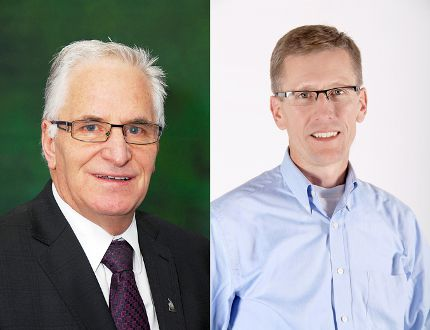 Lacombe businessman Peter DeWit and former Ponoka mayor and businessman Larry Henkleman will both challenge Fox for the local PC riding nomination.