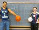 Thanks to a new class at the school, Delhi District Secondary School seniors like Rodney Boodram and Courtney Gilbert took on coaching jobs with the Raider junior teams. (JACOB ROBINSON Simcoe Reformer)