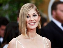 Rosamund Pike stars in Hector and the Search for Happiness being screened Thursday night at the Galaxy Cinemas by the Brantford Film Group. (Reuters)